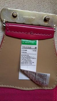 Ремень на талию Benetton размер М, нов цвет розовы