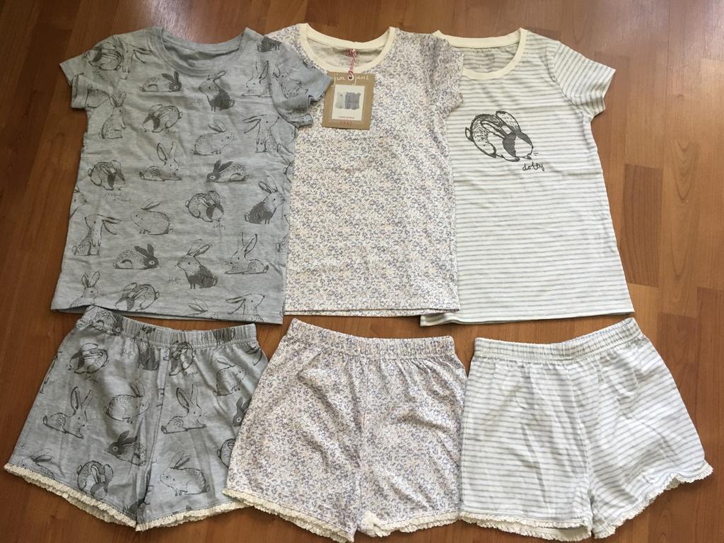 Новые пижамы на девочку р.128 next