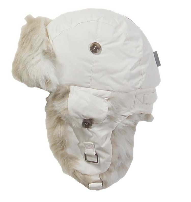 Новая шапка Huppa kaspar (белый), р. 51 (унисекс)