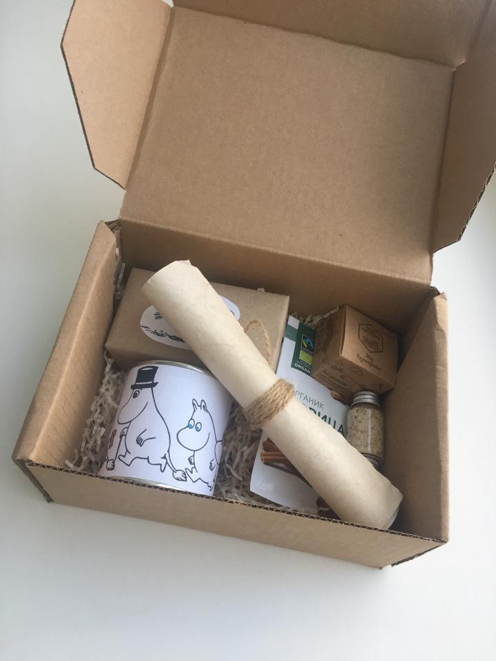 Подарочная коробочка для приготовления кофе