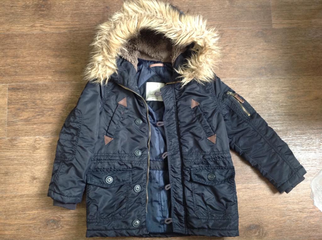 Куртка Zara размер 118