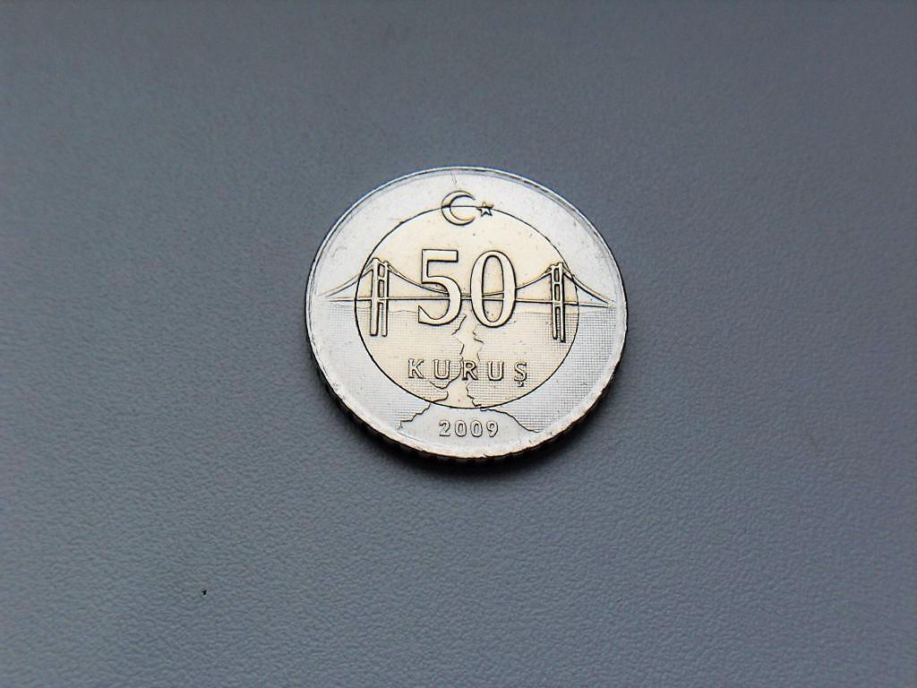 50 Курушей 2009 год Турция