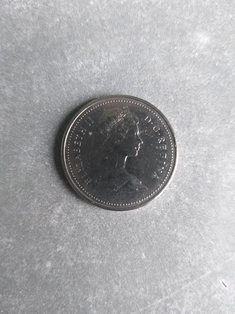 5 центов 1986 год Канада