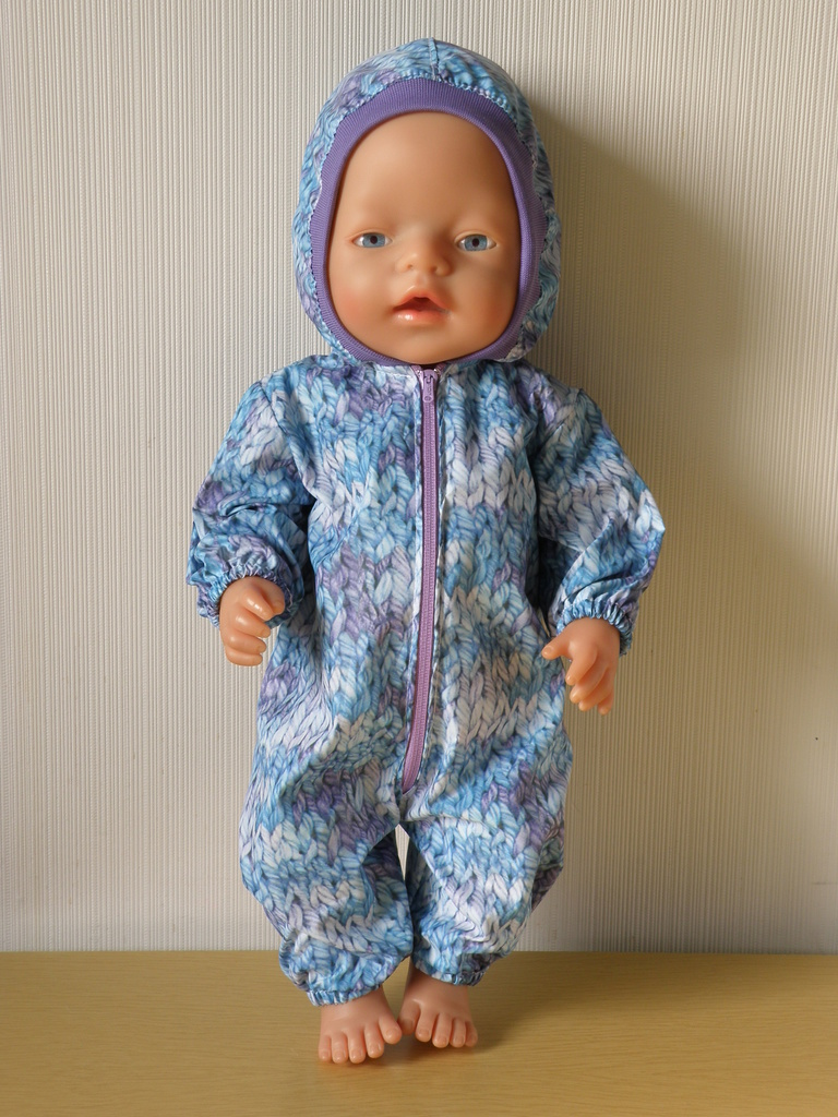 Комбинезон-дождевик для куклы Беби бон