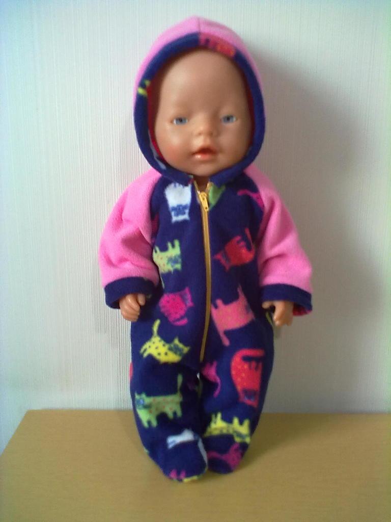 Комбез для куклы Беби Бон