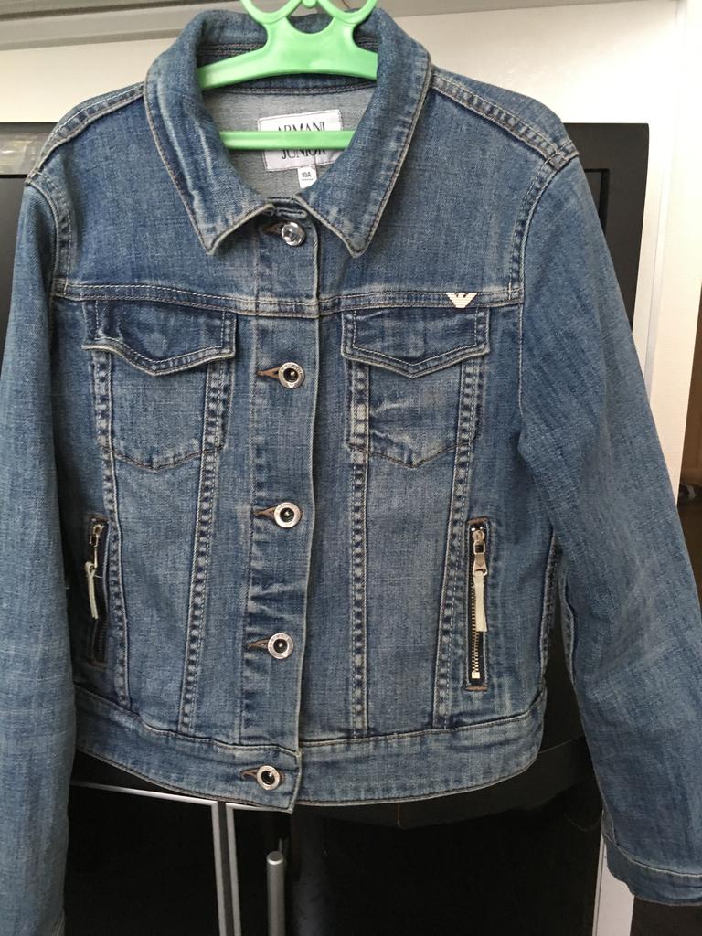 пиджак джинсовый ARMANI