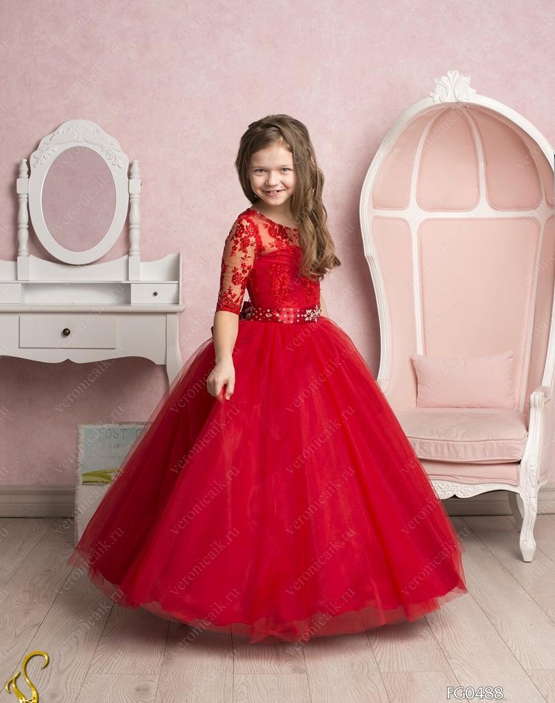 Детские нарядные платья ростов
