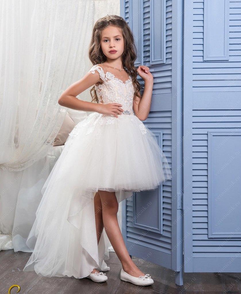 красивые новые детские праздничные платья.
