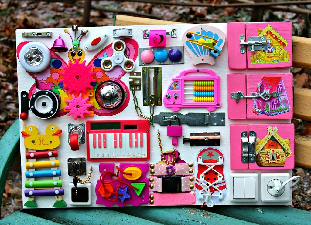 Бизиборд игрушки