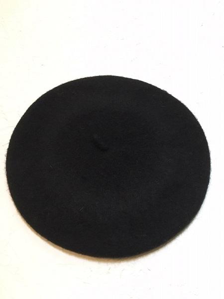 Чёрный шерстяной берет Asos
