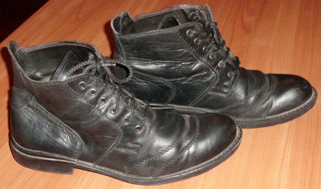 Ботинки демисезонные натуральная кожа Bata р.44-45