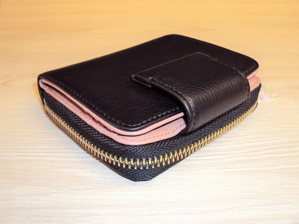 Новый черный кошелек Alessandro Beato