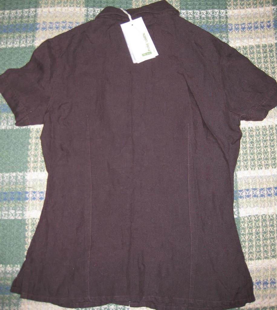 Рубашка TATUUM льняная.Новая.