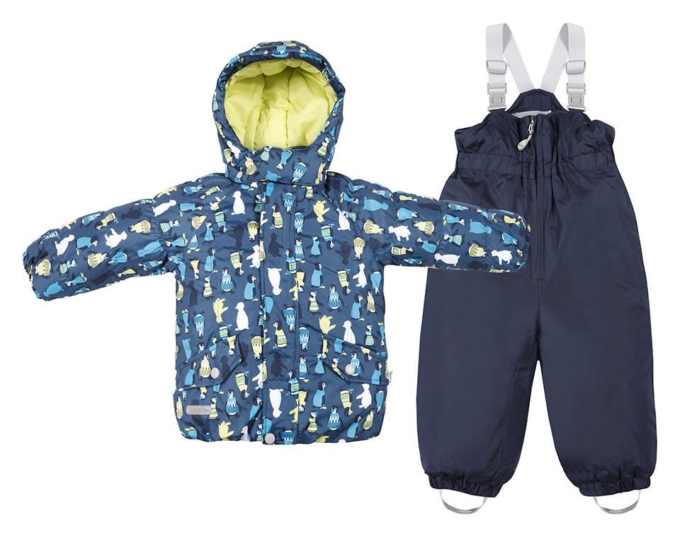 Комбинезон Tokka Tribe Синий с пингвинами