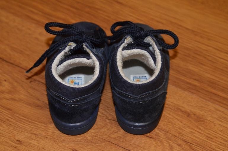 Итальянские утепленные ботиночки размер