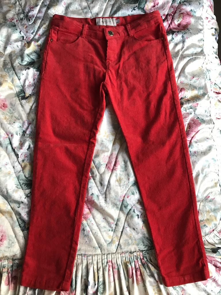 Mayoral брюки микровельвет р 6