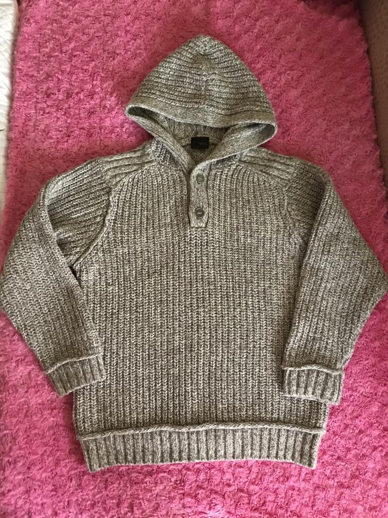 свитер Next р 10/140 шерсть