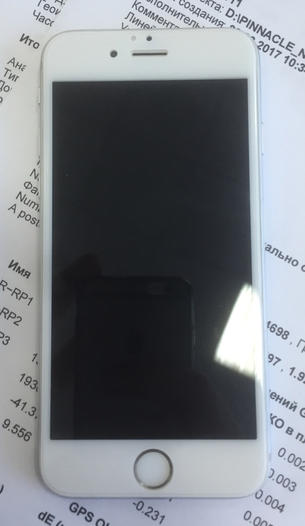 iPhone 6, 64 gb silver оригинал