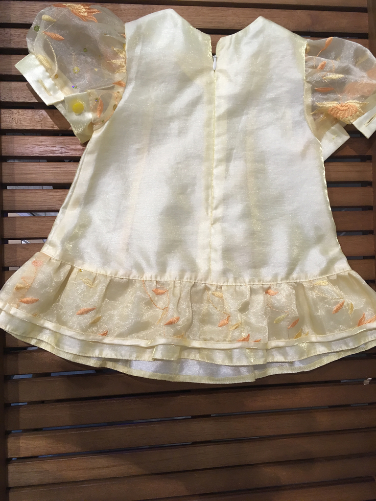 Праздничное платье для девочки 1 год