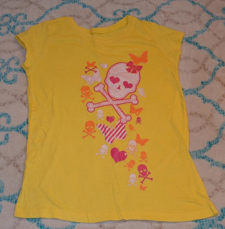 Продам футболки фирма The children's place 7/8 лет