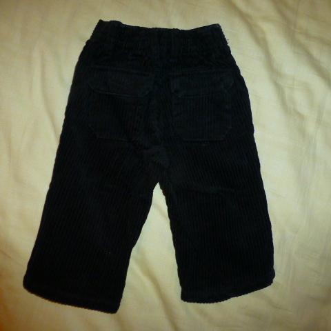 брюки вельветовые Old Navy на 6-12мес.