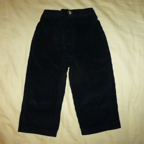 брюки вельветовые на 24мес.
