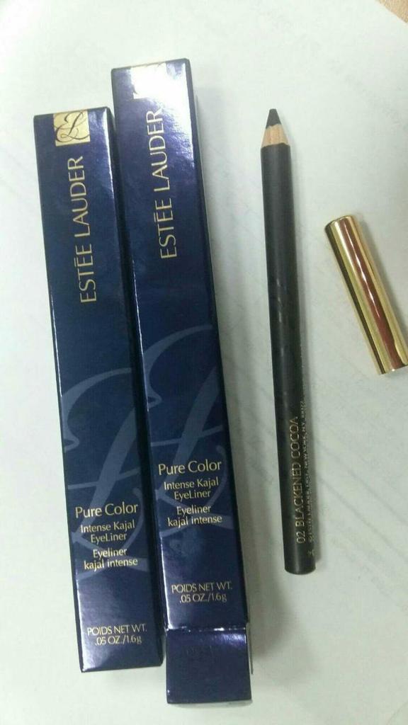 Estee lauder карандаш для глаз 01 02