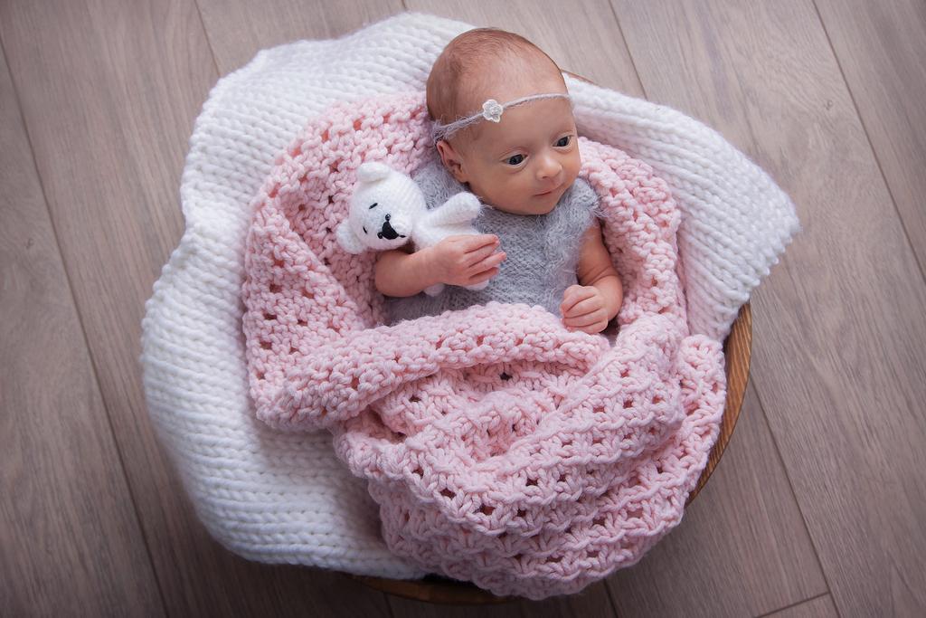 Фотографирую новорожденных малышей