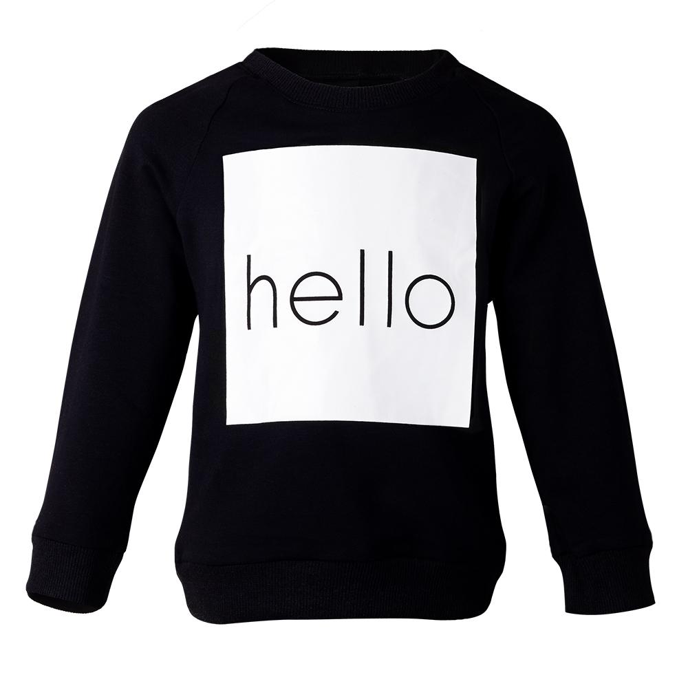 Свитшот Hello