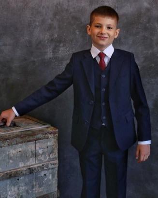 Школьный костюм для мальчика р.140