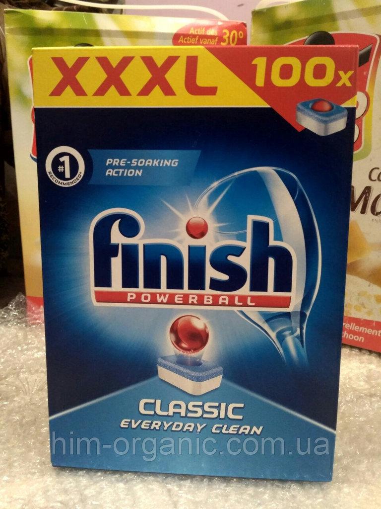 Таблетки для посудомойки Finish classic 100 штук