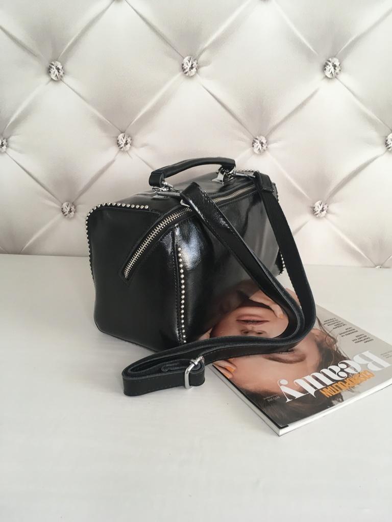 Новая кожаная сумка кроссс-боди арт. 73