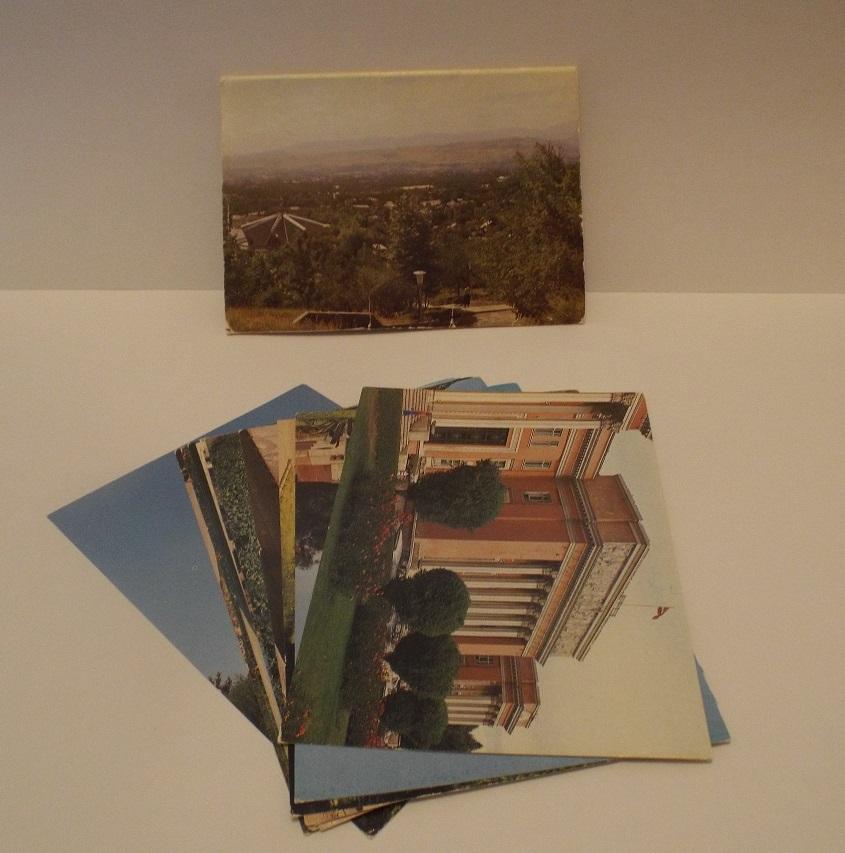 Душанбе. 11 из 12 цветных открыток