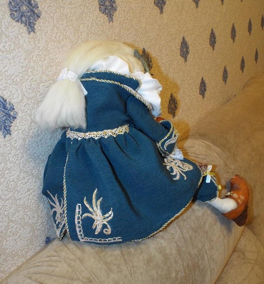 Интерьерная кукла Герцогиня фон жабба жабы лягушка