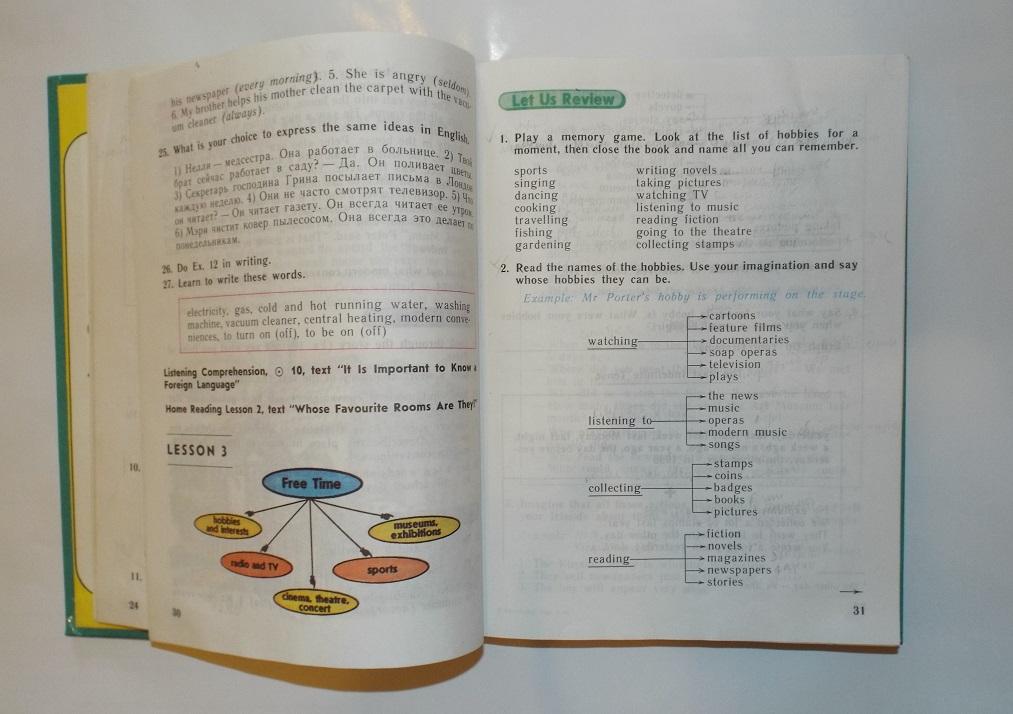 Верещагина Афанасьева Английский язык 5 класс