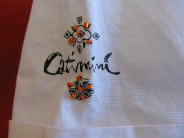 Catimini новый летний пиджак р-р 5лет