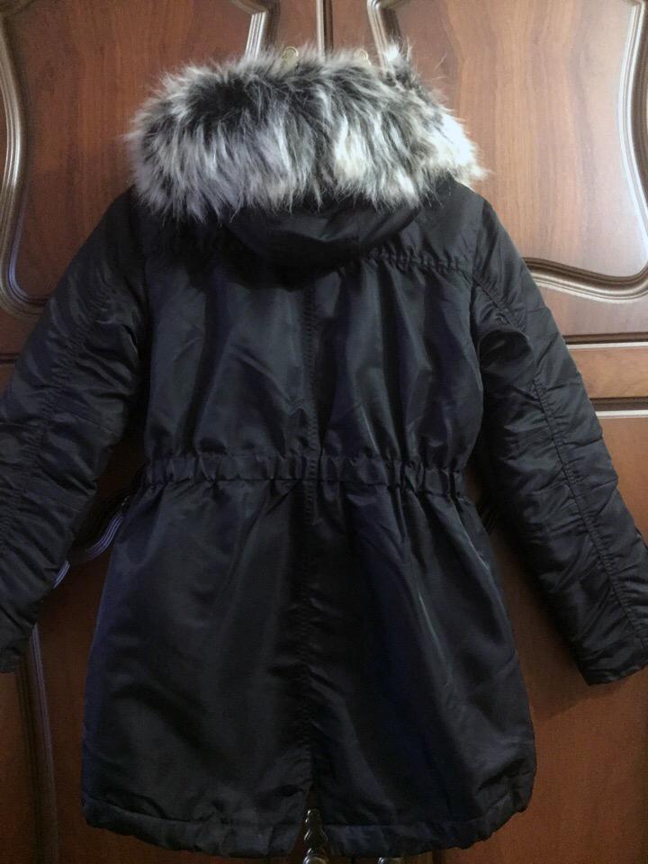 Куртка парка на меху Next Англия демисезонная