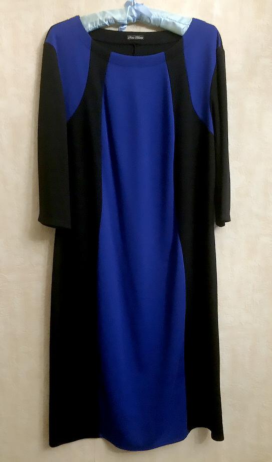 Трикотажное стильное платье Rosa Blanco р. 54-56