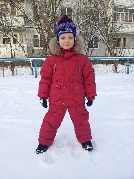 Зимний комлект Kiddy boom