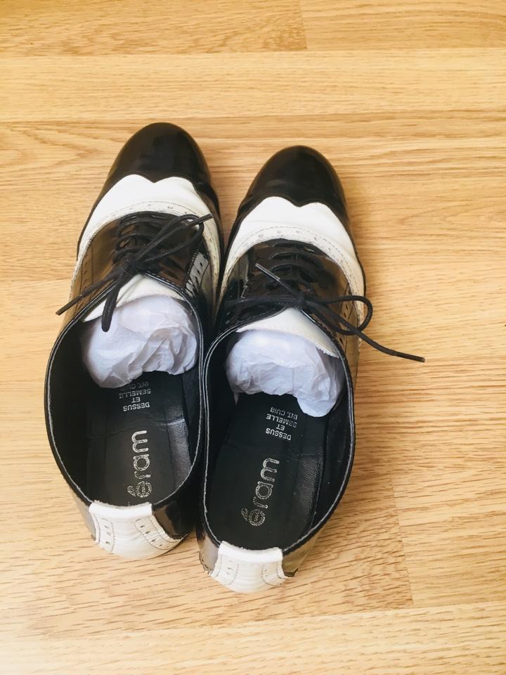Натуральные туфли - ботинки р. 38
