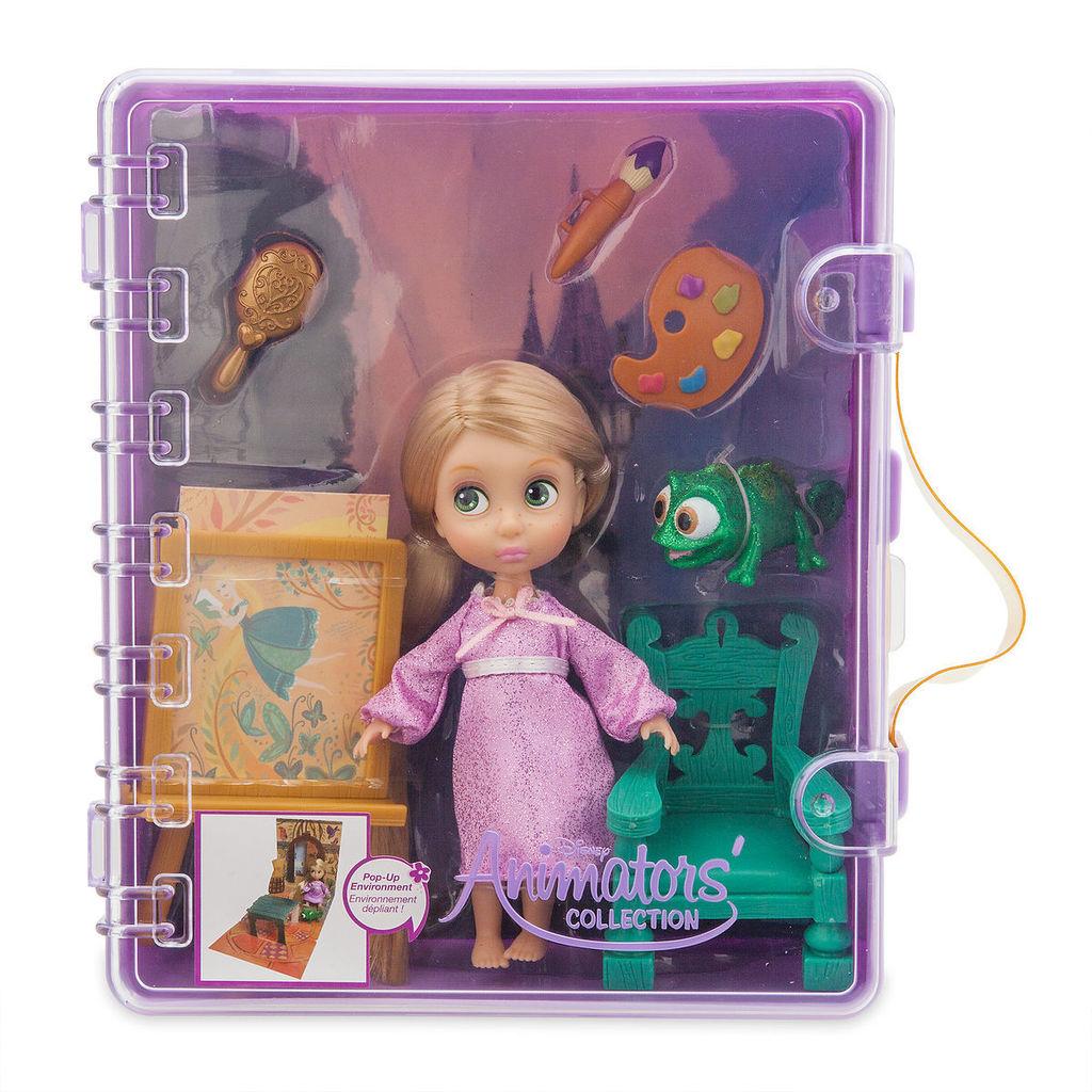 Рапунцель малышка в чемоданчике Новая. Disney