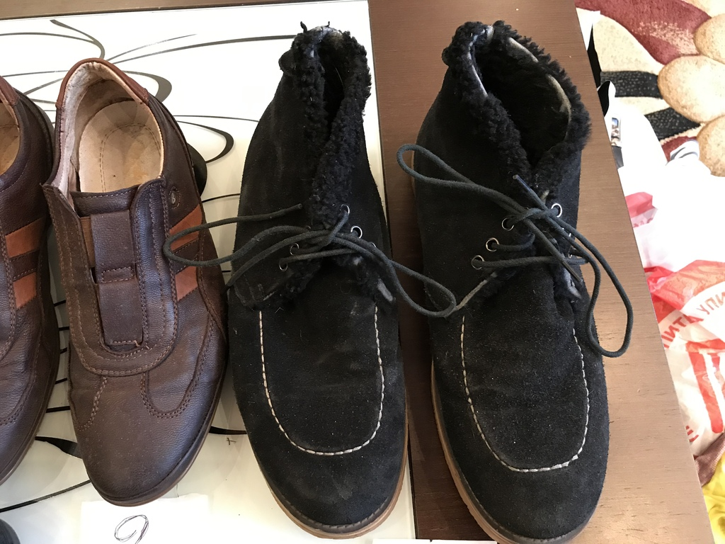 Ботинки мужские б/у