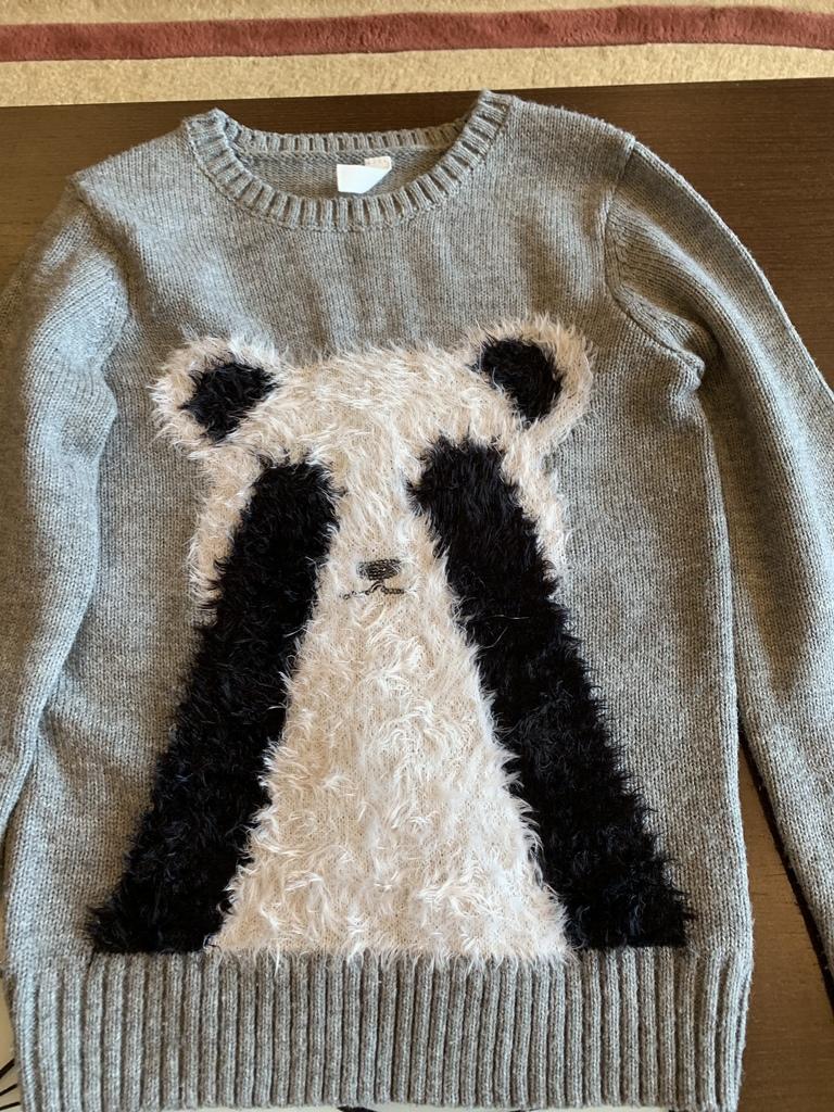 Лосины и свитер р.146