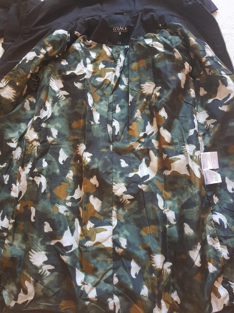 Новая куртка парка весна осень 40 42 44 46 48