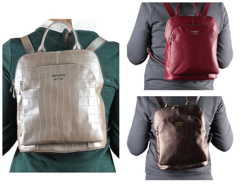 Новые кожаные сумки рюкзаки кроссбоди