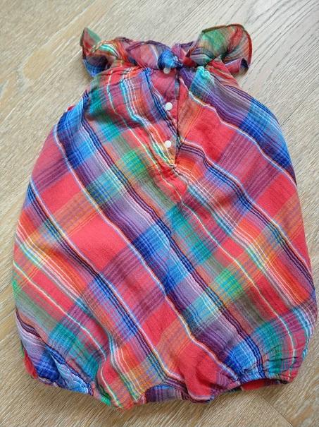 Ralph Lauren нарядное боди песочник б/у, 6-12 мес