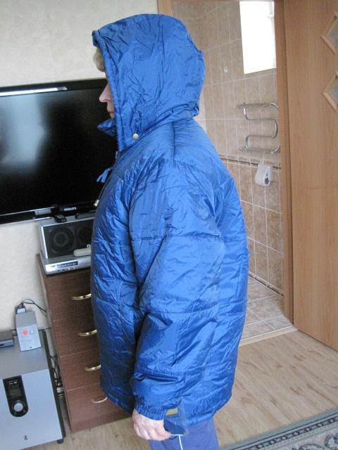 Куртка осень-зима р 44 унисекс новая