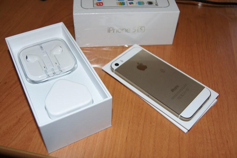 Apple Iphone 5S Gold 32Gb бу