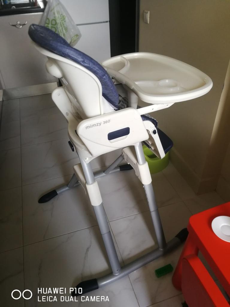 Детский стульчик для кормления Joie Mimzy 360 б/у