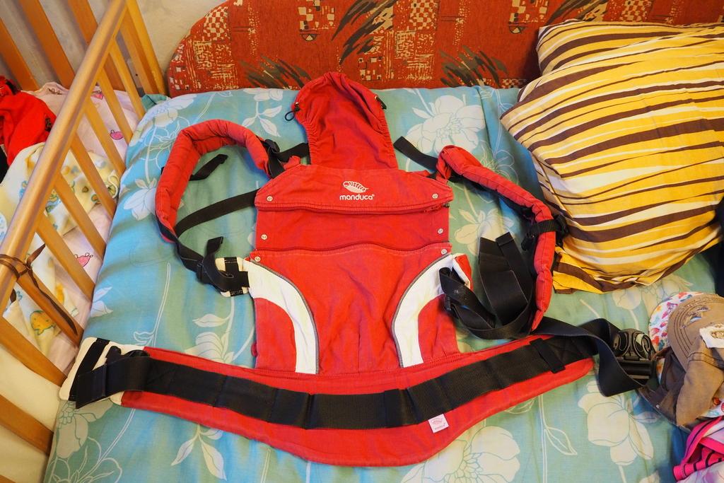 Слинг-рюкзак Manduca NewStyle Red в отл состоянии